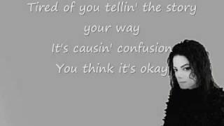 Michael & Janet Jackson Scream Lyrics