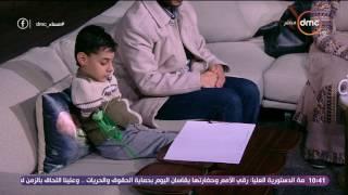 السيسي يفاجىء طفل يعاني من مرض نادر على الهواء.. ويتدخل لعلاجه