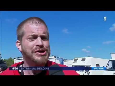 Teknival du 1er mai à Pernay - Compilation de reportage de France 3 Centre Val de Loire