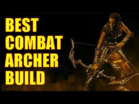 Skyrim Remastered - Best Combat Archer Build (Level 36, Armor Cap, Dragon-ready, 460 Bow Damage!)