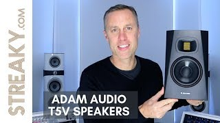 PRO TWEETERS FOR UNDER $300 !!! Adam Audio T5V Speaker Review - Streaky.com