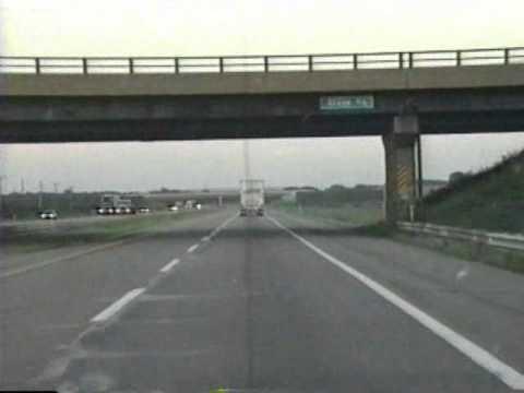 USA Interstate 80 East Tape 17 Part 2 IL. Danville Illinois - Pype's Palace