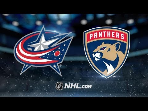 Columbus Blue Jackets vs Florida Panthers | Jan.5, 2019 | Game Highlights  NHL 2018/19 | Обзор Матча