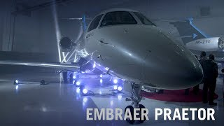 Embraer Launches New Praetor 500 and 600 Business Jets – AINtv