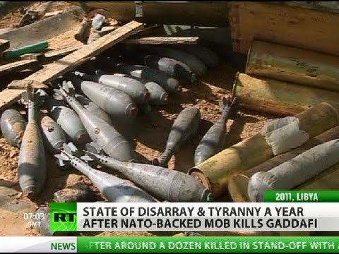 State of Disarray: Libya in turmoil 1 year after Gaddafi's murder