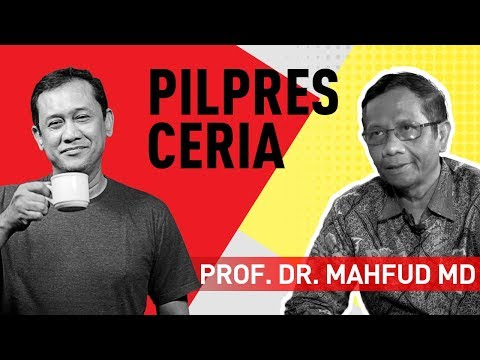 "Denny Siregar Dan Mahfud MD - Seruput Kopi ""Pilpres Ceria"""