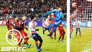 Chivas guadalajara beats 'nervous' toronto 2-1 in first leg of concacaf champions league | espn fc