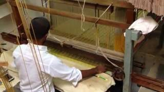 Making of Dharmavaram Handloom Silk Sarees