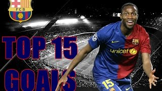 Keita Top 15 Goals For Barcelona