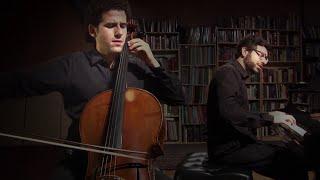 Shostakovich Cello Sonata, I - Nicholas Canellakis and Michael Brown