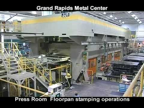General Motors Grand Rapids Stamping Operations Youtube