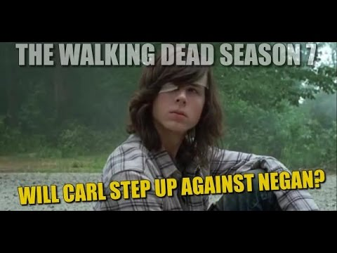 The Walking Dead Season 7 Discussion Will Carl Step Up Against Negan?