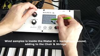 MISTER M DEMO PART 1: Classic keys personnal sounds