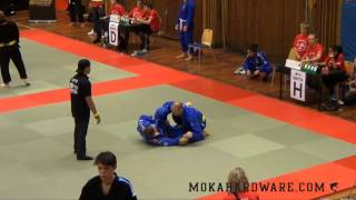 Swedish Open BJJ 2013 Shimon vs Richard Johansson Black Belt -88,3kg Master