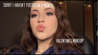 valentines makeup and explanation