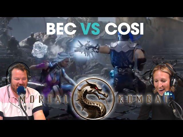 MORTAL KOMBAT: BEC VS COSI | Bec Cosi and Lehmo