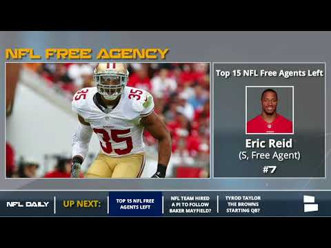 NFL Free Agency: Top 15 Free Agents Remaining