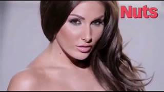 Lucy Pinder hot photoshoot | Topless | Handbra