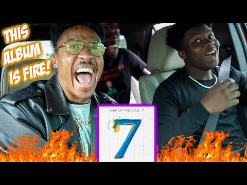 BTS (방탄소년단) - Map of the Soul 7 FULL ALBUM REACTION!! + Custom BTS Jacket Giveaway
