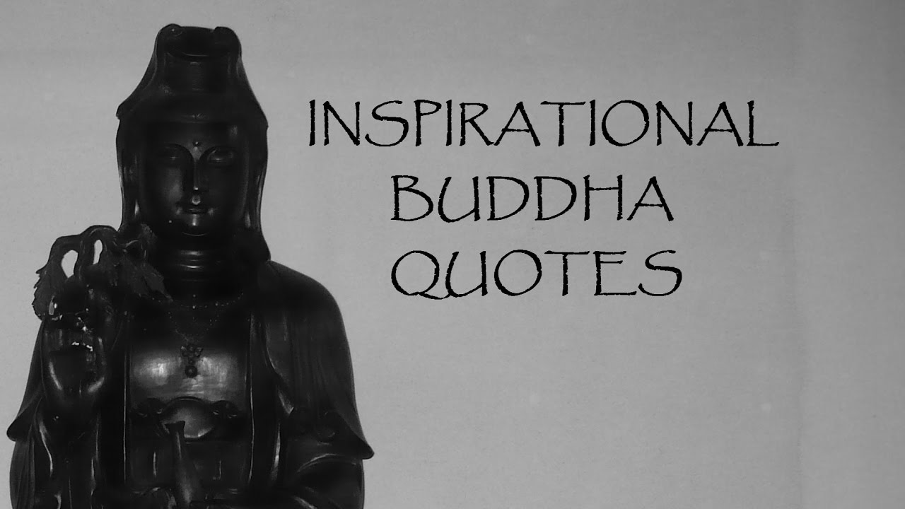 inspirational buddha quotes teachings youtube