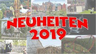 Freizeitpark- und Achterbahn-Neuheiten 2019 (Phantasialand/Europa Park/...) | Special