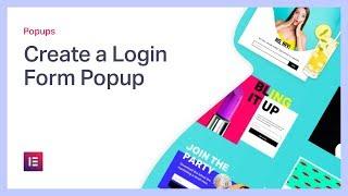 Create a Login Form Popup in WordPress
