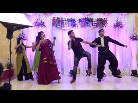 Wedding Dance Performance by Family Members (Sagan Ceremony of Shweta & Abhay)