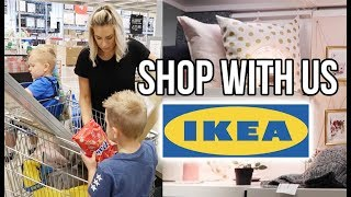 SHOP WITH US IN IKEA | TAKING THE KIDS TO IKEA AND HOMEWARE HAUL 2018 AD