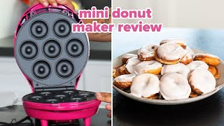 I Tried Betty Crocker's Mini Donut Maker • Tasty
