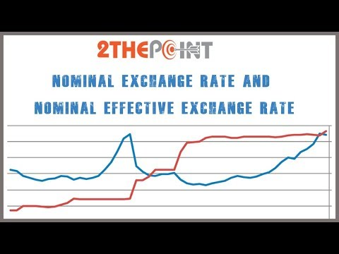 Nominal Exchange Rate and Nominal Effective Exchange Rate