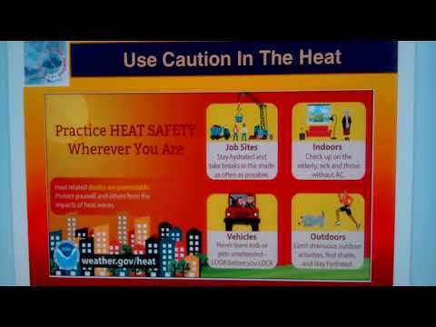 Use Caution In The Heat
