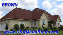 Metal Roofs Colors