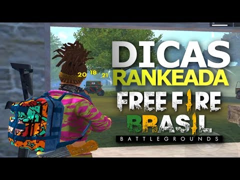 DICAS PARA RANKEADA NO FREE FIRE BATTLEGROUNDS