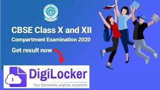 How to Download #Cbse Compartment original Marksheet from #digilocker | cbse compartment result 2020