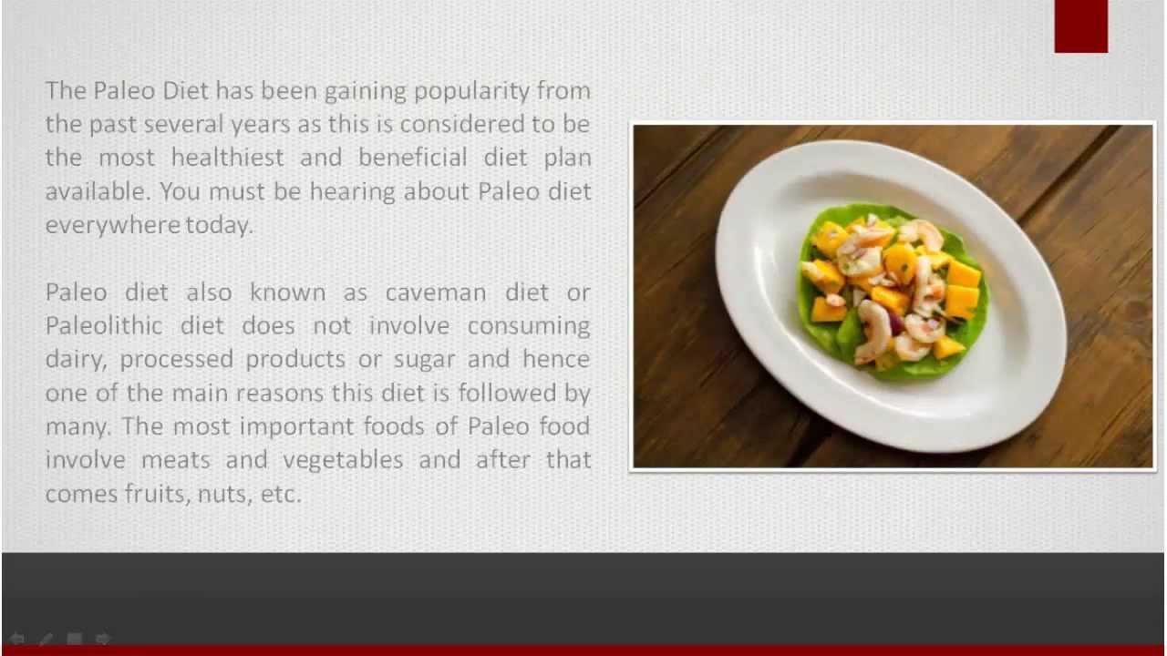 Cookbook:Paleo Diet