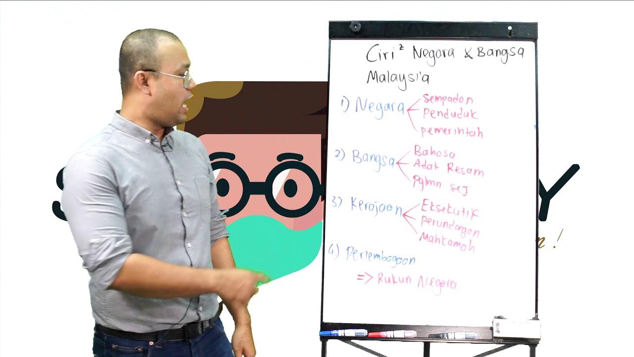 Ciri-ciri Negara Bangsa Malaysia - YouTube