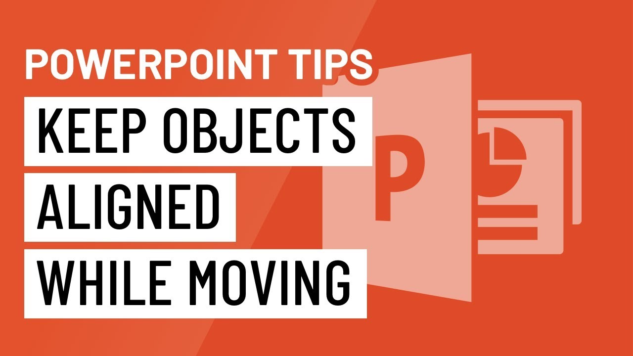 PowerPoint Quick Tip: Keep Objects Aligned While Moving