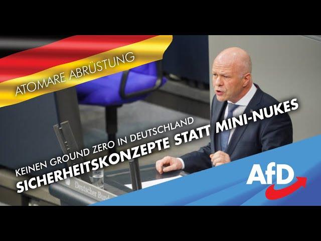Amerikanische Mini-Nukes, stationiert in Deutschland, machen den Frieden nicht besser