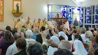 Dom Gregório Paixão celebra Vigília Pascal em Teresópolis