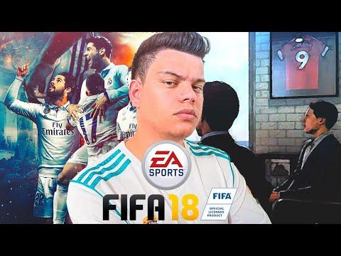SOU TÉCNICO DE UM TIME DE FUTEBOL  - FIFA 18 - Modo Carreira #01 ‹ PORTUGA ›