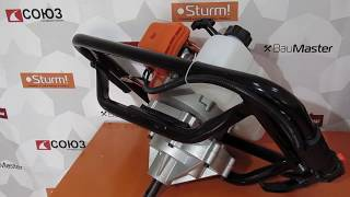 Обзор   мотобура Енергомаш МБ-1530А / Какой мотобур выбрать? / Выбор мотобура для дома