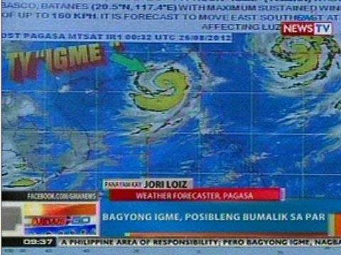 NTG: Latest weather update as of 9:37 a.m. via PAGASA