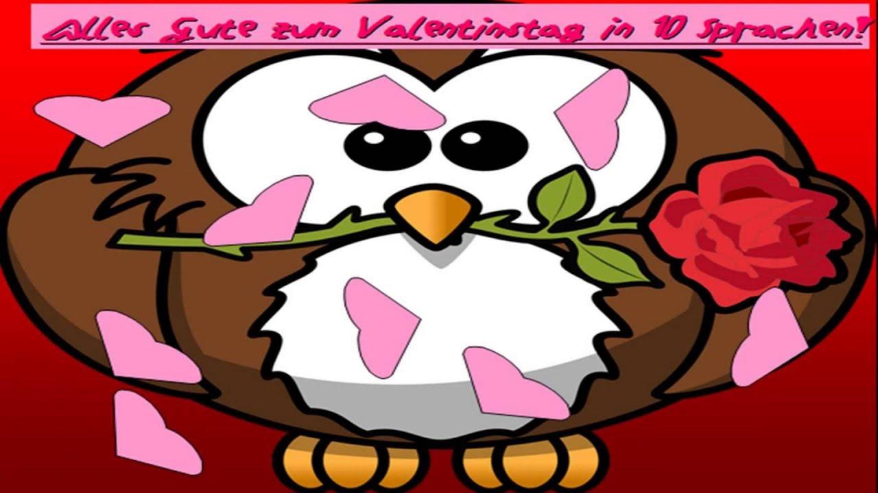 Alles Gute Zum Valentinstag In 10 SPRACHEN!   Valentinstag 2015 [HD+]