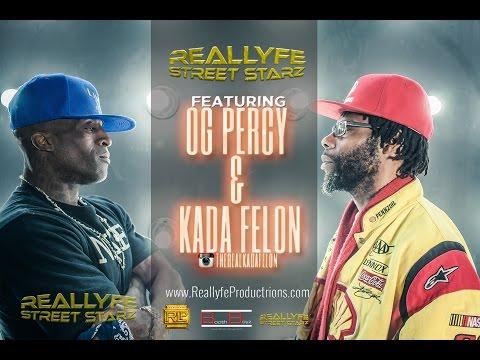 CRIP VS BLOOD .... BATTLE RAP Interview with OG Percy & Kada Felon   #ReallyfeStreetStarz