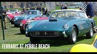 Ferraris At Pebble Beach | 70th Anniversary Of Ferrari