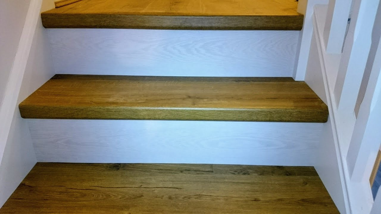 Quick Step Laminate Stairs In Belltree Clongriffin Installed By Www Bargainflooring Ie
