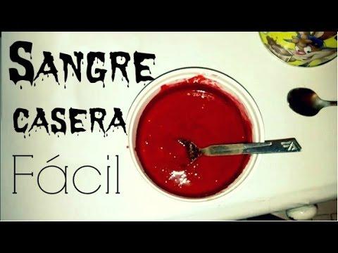 Como hacer sangre