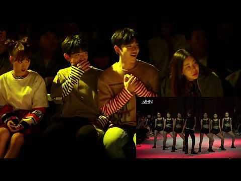 [FULL] 171017 Idols Reaction To TAEMIN 'MOVE' At Seoul Fashion Week💛