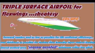 seacow airfoil for hangliders skeatesy