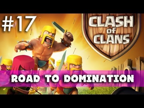Clash Of Clans - Road To Domination: Troop Management And First Use Of A Dragon